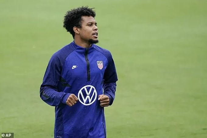 Juventus angry with McKennie for violating Covid protocols while on USA duty