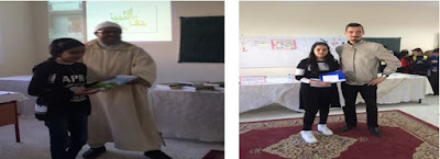 تلاميذ ثانوية الشيخ ماء العينين الإعدادية بسلا يعبرون عن رفضهم لظاهرة العنف بالوسط المدرسي