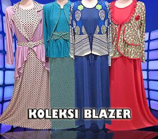 Toko blazer wanita muslimah online murah terbaru