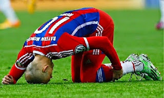 Robben is ruled out for the rest of the season
