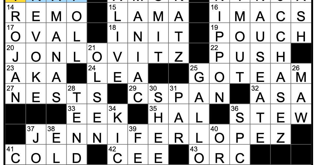 Rex Parker Does The Nyt Crossword Puzzle Eastern Mystic Tues 10 29 19 Section Of A Record Store Stealthy Fighter Mythical City Of Gold