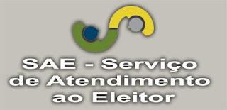 Eleições 2020: Serviço de Atendimento ao Eleitor (SAE) tem início na próxima segunda (26)