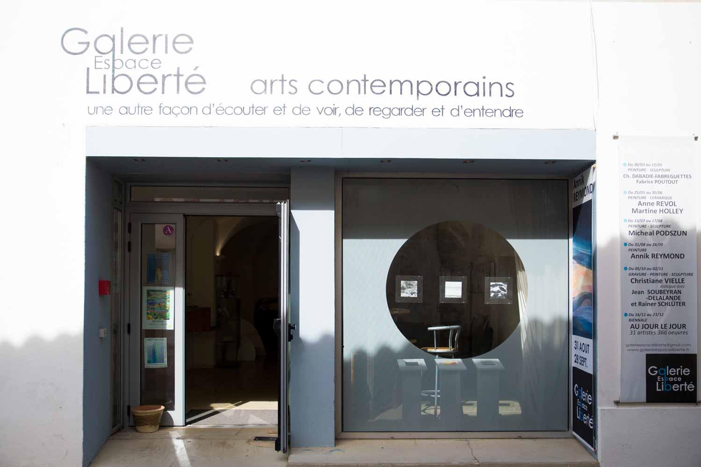 Exposition Espace Liberté Crest - Extérieur © Annik Reymond