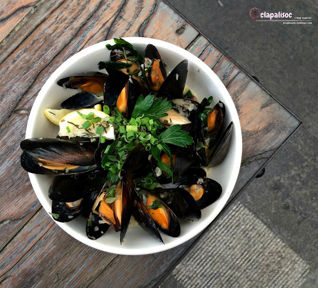 Mussels Lombardi from Italianni's PH