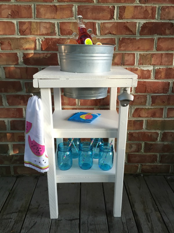 Do It Yourself Beverage Cart