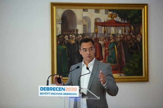 Debreceni polgármester: léptékváltást jelent a 2030-ig szóló fejlesztési program