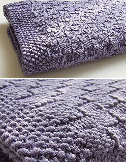Basketweave Blanket - Free Pattern