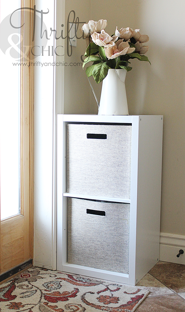 Thrifty and chic diy projects and home decor for Limited space storage solutions