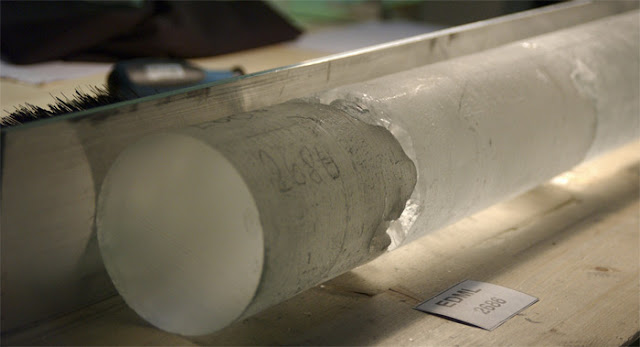 Dust in ice cores leads to new knowledge on the advancement of the ice before the ice age
