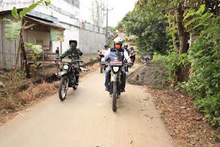 Kawal Asa Petani, Taufik Hidayat Blusukan di Tanggul Sungai