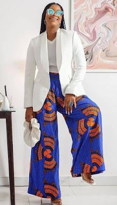 Latest Ankara Palazzo Trousers and Jumpsuits