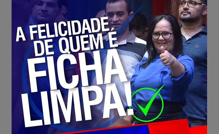 Belezinha obtém decisão favorável no TSE e mantém ficha limpa.