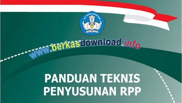 Panduan Teknis Penyusunan RPP Kurikulum 2013