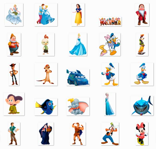 100 PNG Disney Character Images Preview 02