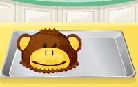 permainan memasak membuat roti monyet