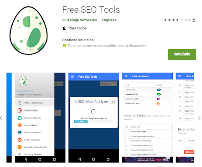 Free SEO Tools, más de 50 herramientas SEO en una sola APP