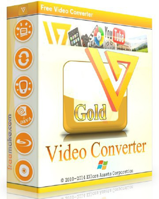 Freemake Video Converter 4.1.11.28 poster box cover