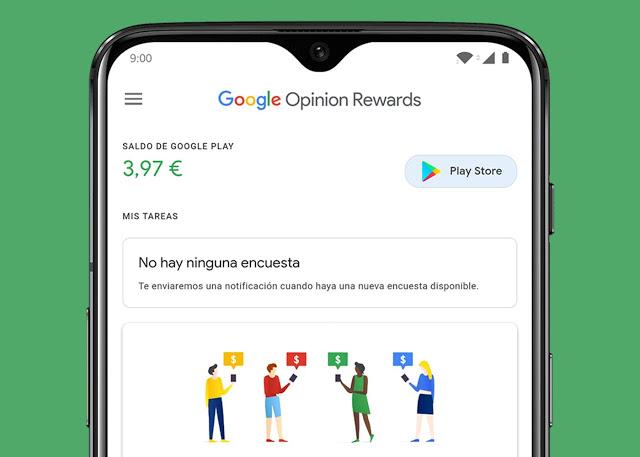 Une nouvelle mise à jour Google Opinion Rewards application Android /iOS pour gagner de l'argent