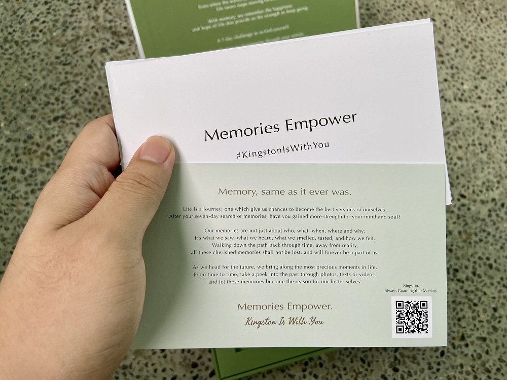 7-Day Memory Challenge cards