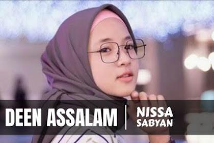 Lirik Lagu Deen Assalam Sabyan (Teks Arab dan Artinya)