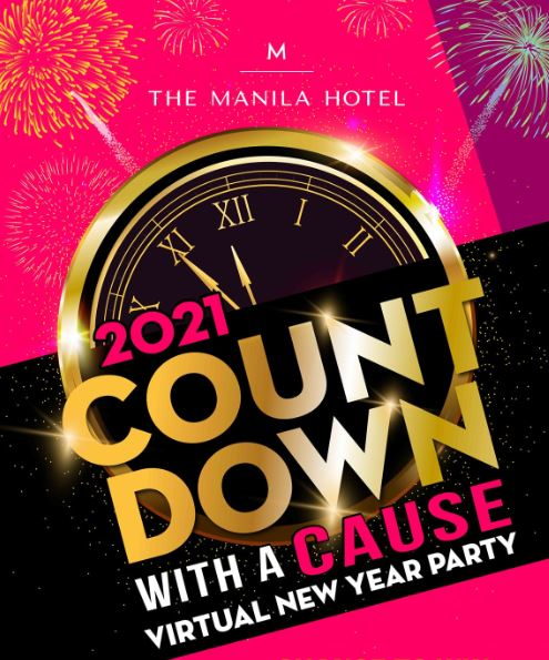 Manila Hotel's 2021 Countdown with a Cause