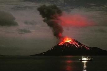 Apakah sumber Suara Dentuman Keras misterius Tengah malam Jika bukan karena meletusnya Anak Krakatau