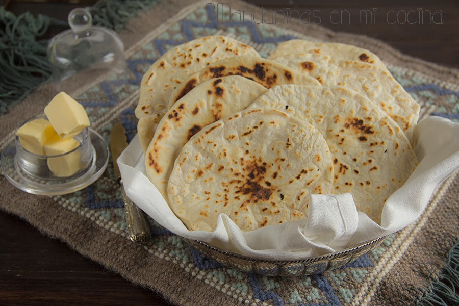 Pan Roti Pan Indio  2Mandarinas en mi cocina