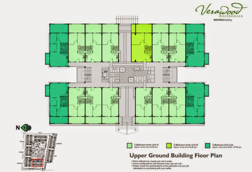 Verawood Residences Floor Layout Ground Level