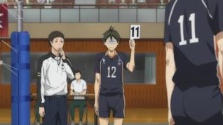 ハイキュー!! アニメ 2期17話 山口忠   HAIKYU!! Karasuno vs Wakutani minami