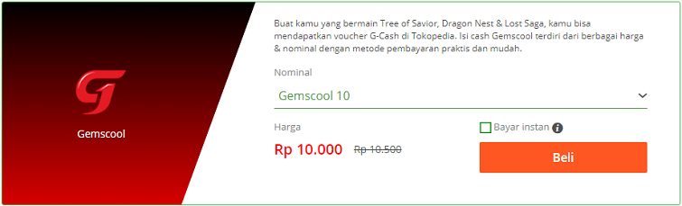 voucher gemscool tokopedia 1