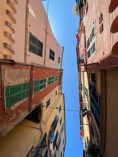 Space between building on Via Giovanni Capellini - Porto Venere center