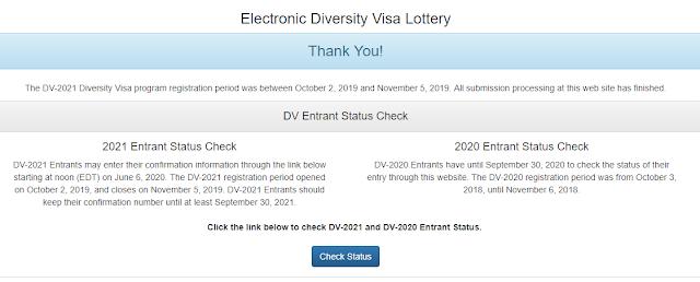 edv result check website