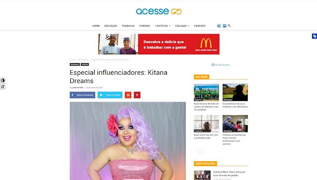 Especial influenciadores: Kitana Dreams - Portal Acesse