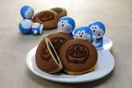 Resepi Kuih Dorayaki a.k.a. Biskut Doraemon