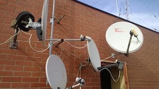 Instalación y tipos de antenas