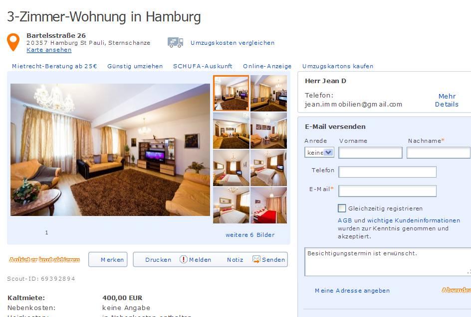 Hamburg single wohnung