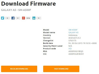 Download Firmware Samsung A500F