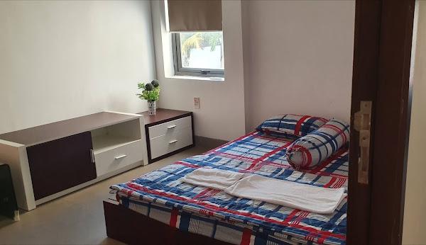 phòng ngủ trong căn nhà mẫu a10 dự án khu nghỉ dưỡng happy garden hồ tràm , toạ lạc tại xã phước thuận