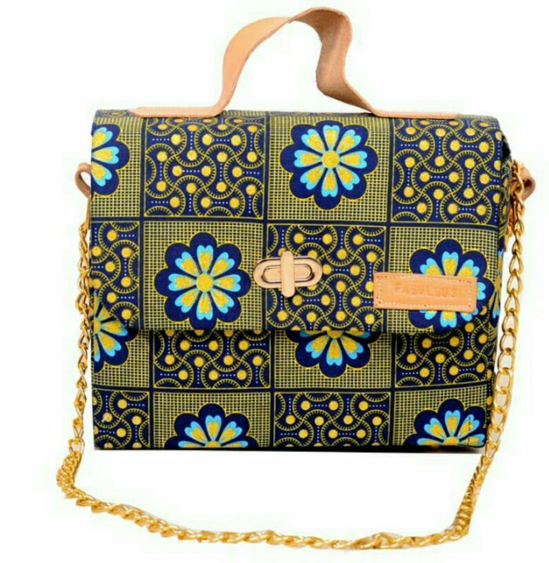 Beautiful Ankara bag