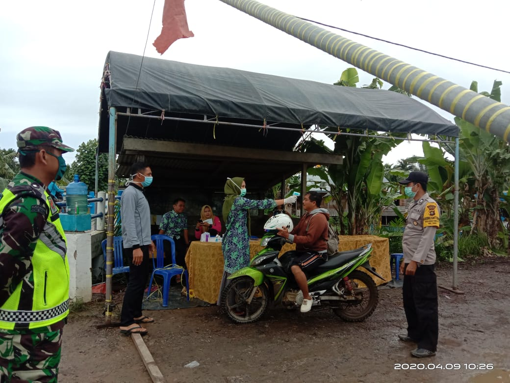 Remau Baku Tuo Perketat Pemeriksaan di Perbatasan Desa