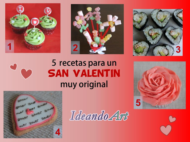 Recetas San Valentín