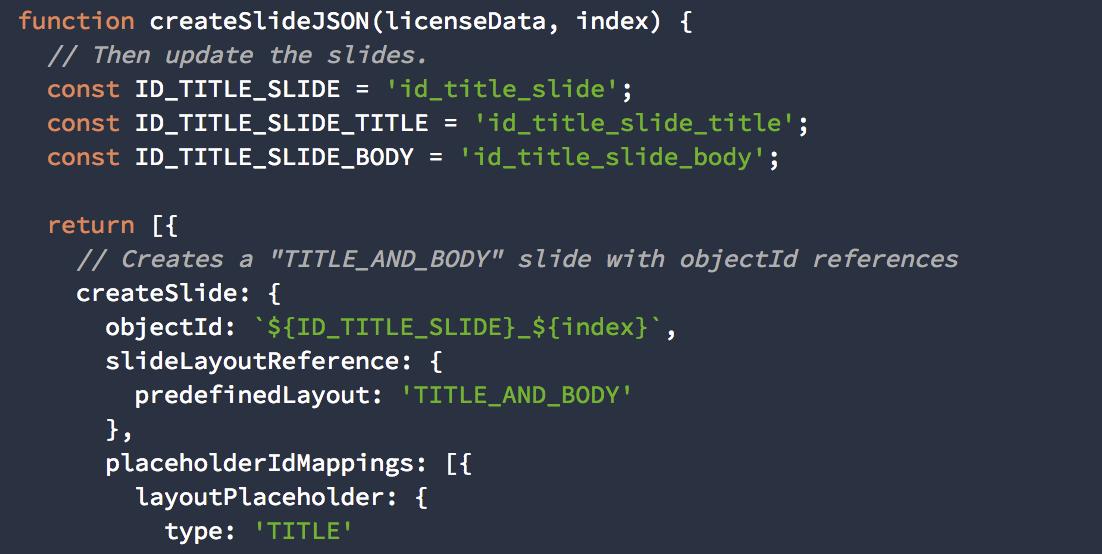 google developers japan slides api コードラボのご紹介
