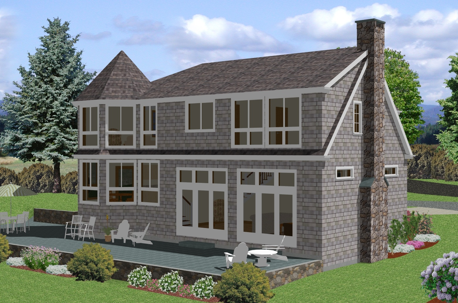Descargar planos de casas y viviendas gratis fotos de for Casa modelo americano