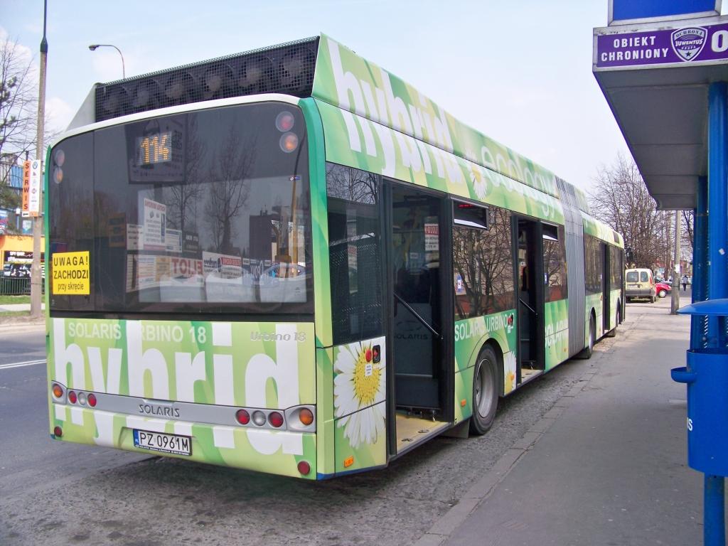 Solaris Urbino 18 Hybrid - Połowa Tył