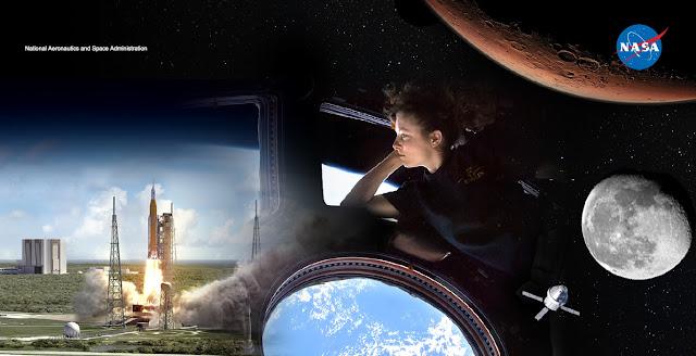 NASA lần đầu tiên công bố chi tiết sứ mệnh đưa con người lên Sao Hỏa. Hình ảnh: NASA.