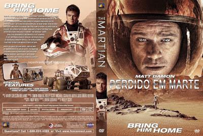Filme Perdido Em Marte DVD Capa