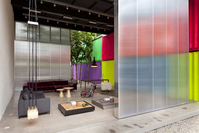 Decameron - Low Budget Colorful Shipping Container Store, Brazil 23