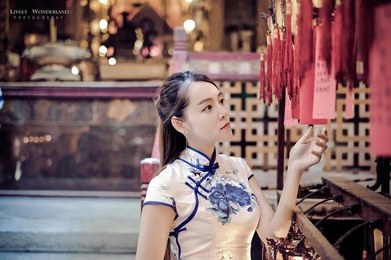 【香港旗袍租借】穿旗袍玩中環 4大IG拍照景點超有FU! - Livia's Wonderland薇笑樂園