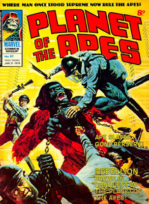 Marvel UK, Planer of the Apes #67, Conquest