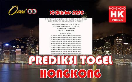 Prediksi Omi88 Togel Hongkong Sabtu 10 Oktober 2020